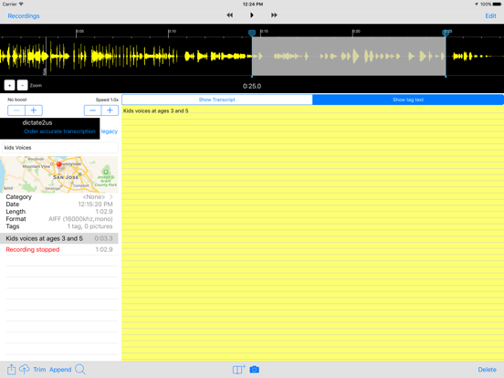 Smart Recorder Transcriber AF Screenshots