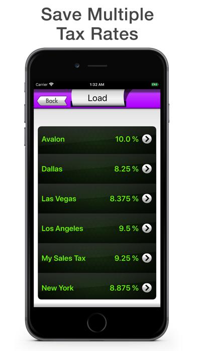 Sales Tax Calculator - Tax Me screenshot three