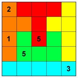 Logi5Puzz - 5x5 jigsaw Sudoku