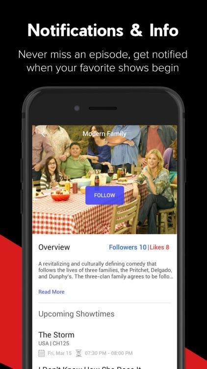 TicTalk - TV Guide & Listings