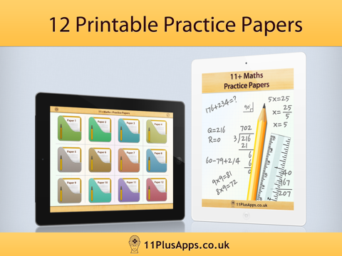11+ Maths - Practice Papers - náhled