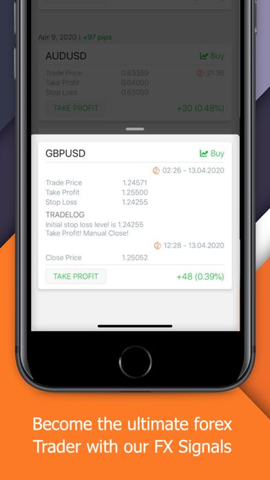 Forex Daily Signals Screenshot
