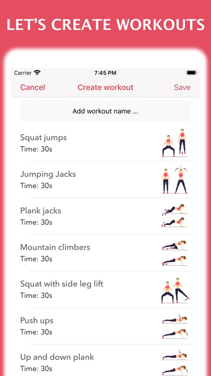 Workout for women at home screenshot-4