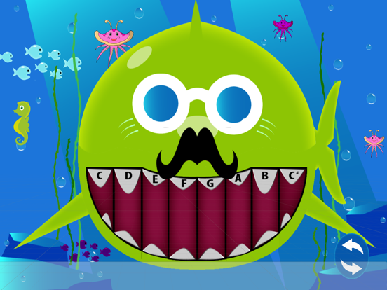 Magic Little Shark Piano screenshot #3