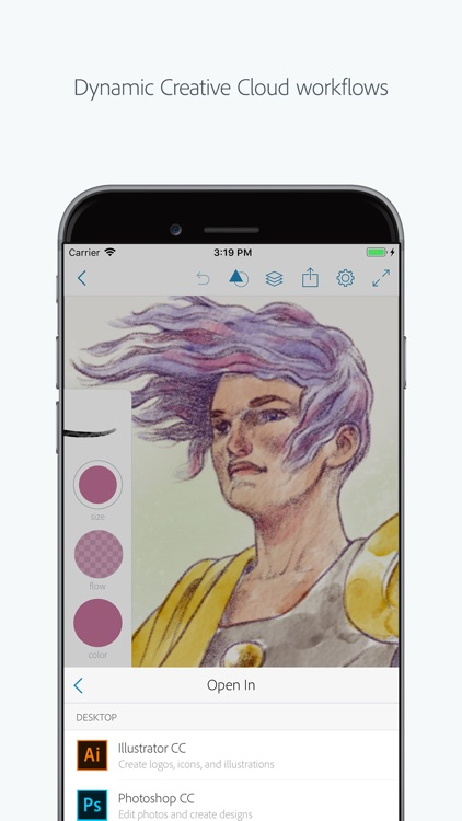 Adobe Photoshop Sketch screenshot-4