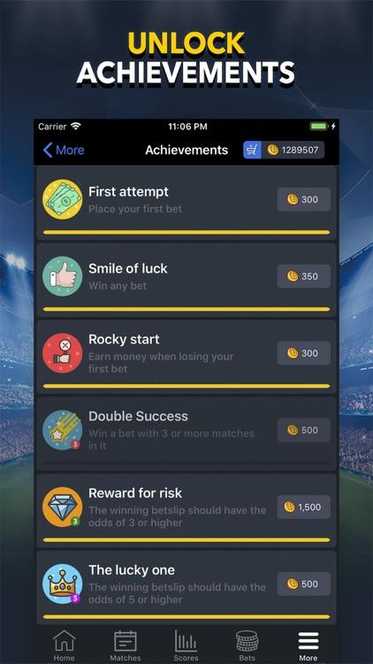 BETUP - Sports Betting Game screenshot-6