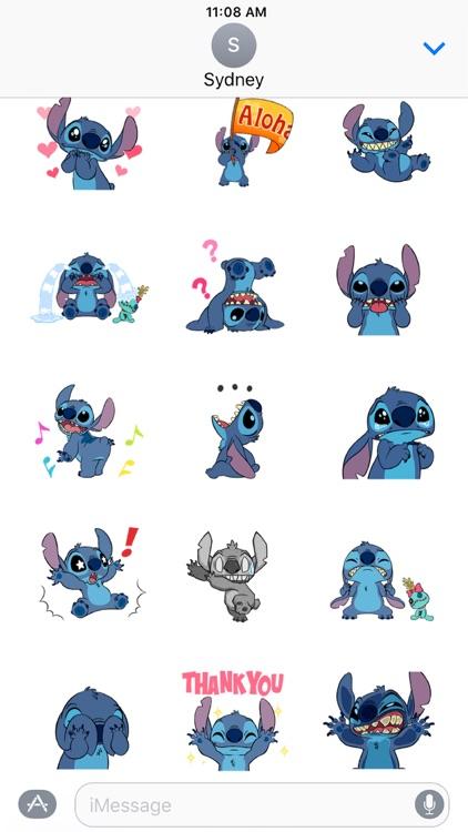 Disney Stickers: Stitch