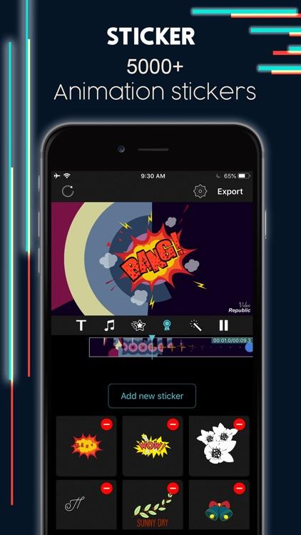 Intro Maker Effects Video Edit screenshot-4