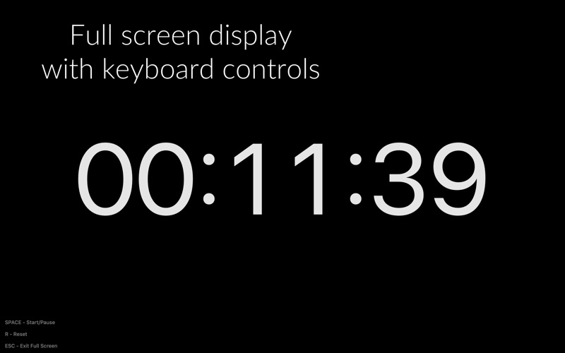 Timey 3: menu bar timer скриншот программы 4
