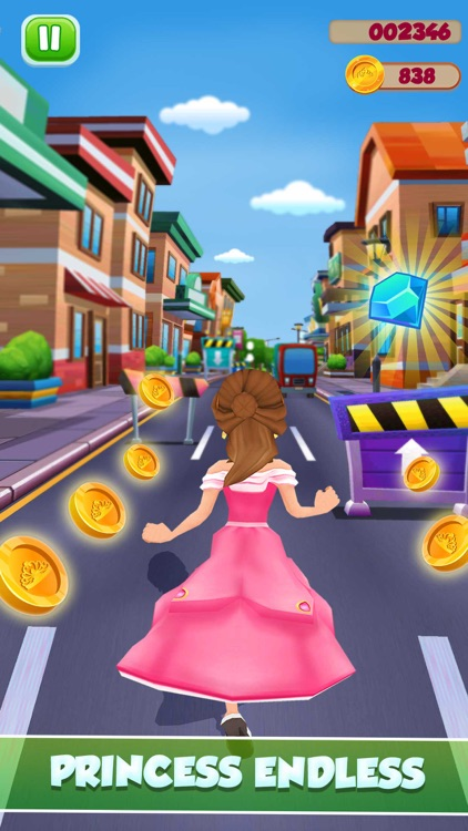 Princess Runner Dash Game screenshot-1