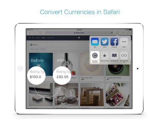 Clear Currency ·  exchange rate & money converter screenshot