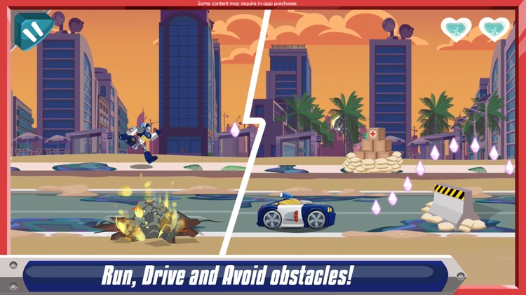 Transformers Rescue Bots: Dash screenshot-1