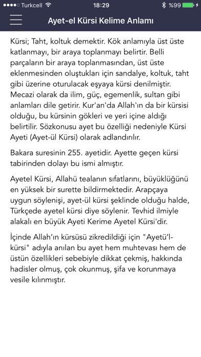 Ayetel Kürsi Duası screenshot four