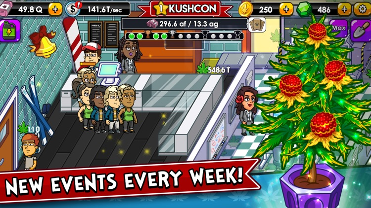 Weed Inc: Idle Tycoon screenshot-0
