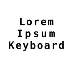 Lorem Ipsum Keyboard