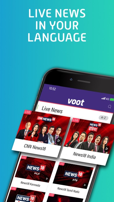 Voot - Revenue & Download estimates - Apple App Store - India