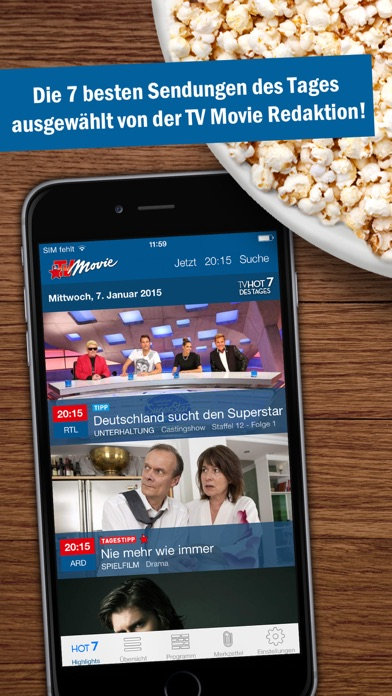 Herunterladen TV Movie - TV Programm für Pc