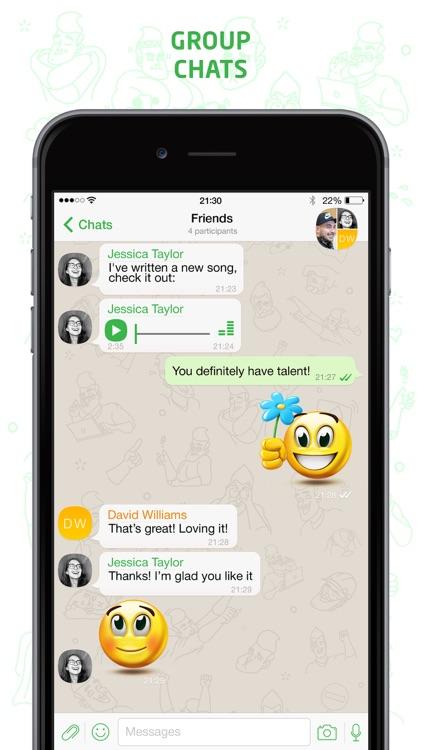 DefTalk Messenger screenshot-4