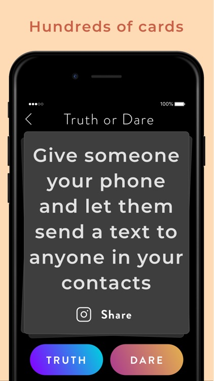 Truth Or Dare Party Games