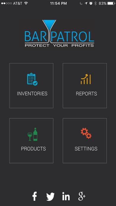 Bar Patrol Inventory App screenshot one
