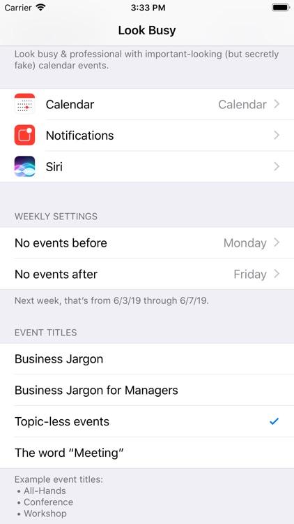 Look Busy screenshot-4