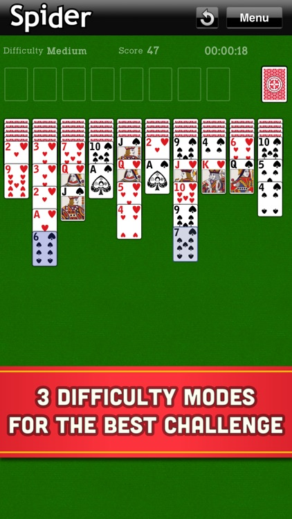 Spider Solitaire Classic Cards screenshot-2