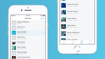 Screenshot for Music Cloud - offline player in Australia App Store