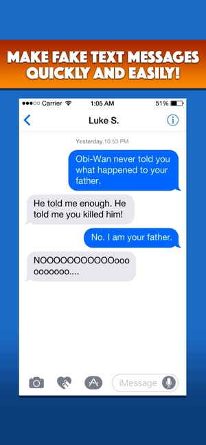 TextMeme – Fake Text Messages on the App Store