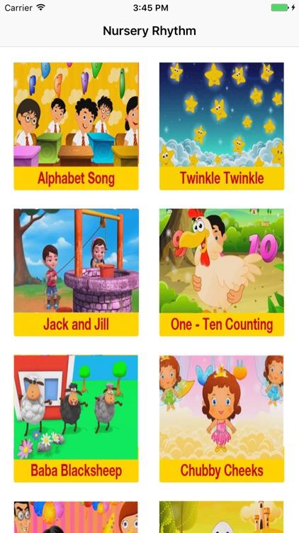 Nursery rhymes for toddlers.