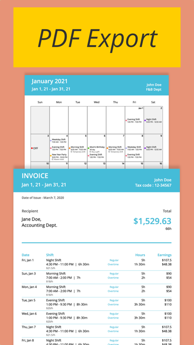 Shiftify:バイトの給料計算とシフト管理のスクリーンショット6