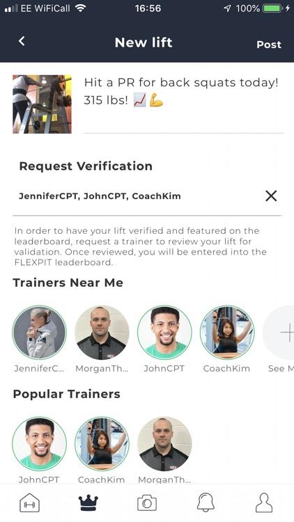 FLEXPIT: Social Fitness screenshot-3