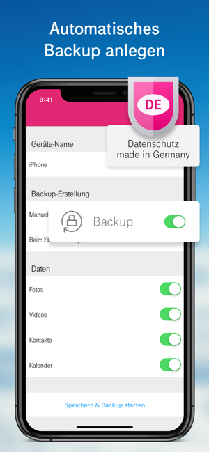 ‎MagentaCLOUD - Cloud Speicher Screenshot