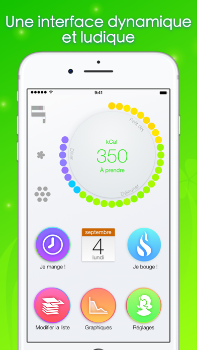 Screenshot #1 pour Calories minute