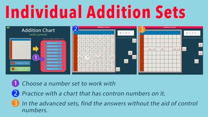 Montessori Addition Charts screenshot 5
