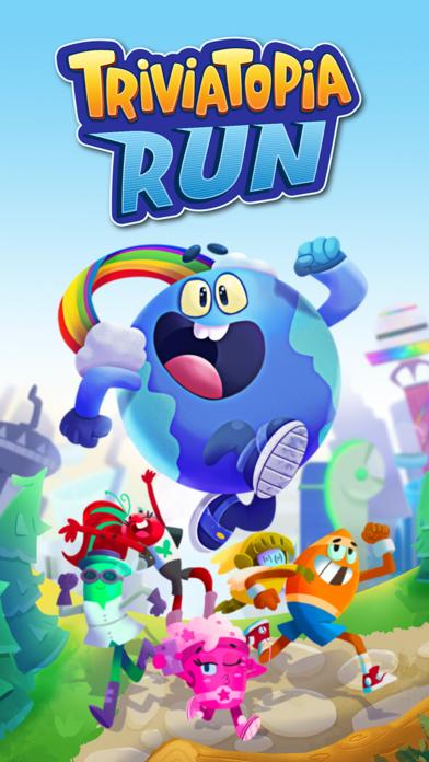 Triviatopia Run screenshot 1