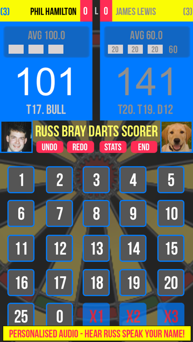 Russ Bray Darts Scorer review screenshots