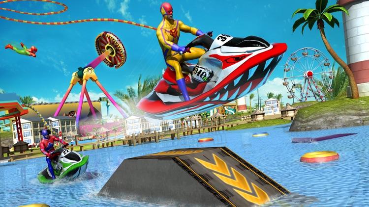 Freefall Aqua Splash Ride