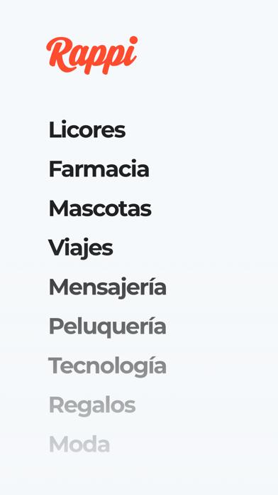 Screenshot for Rappi: Comida a domicilio in Mexico App Store
