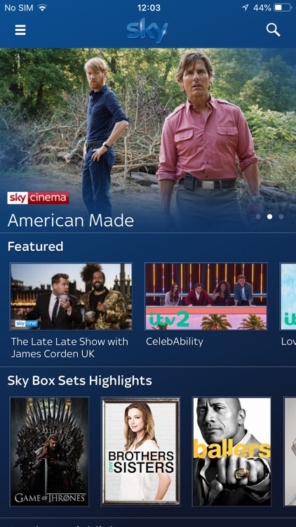 Sky Q screenshot-0