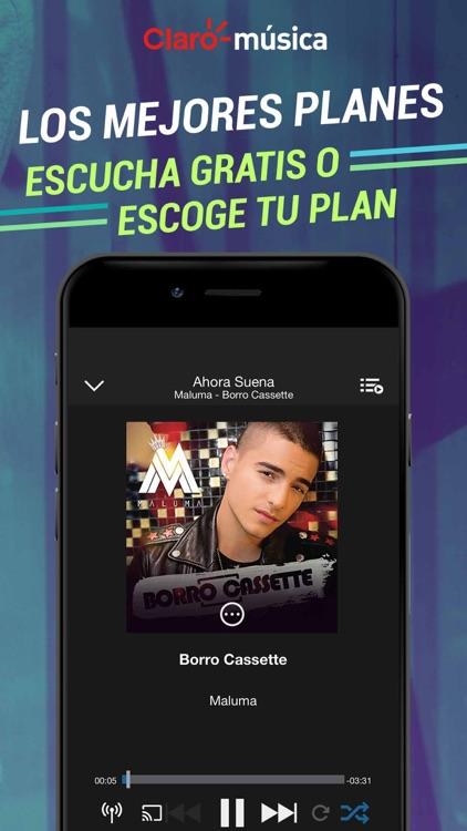 Claro Musica screenshot-3