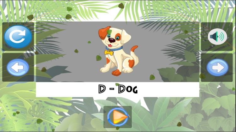 A to Z Kids Animals Learning screenshot-3