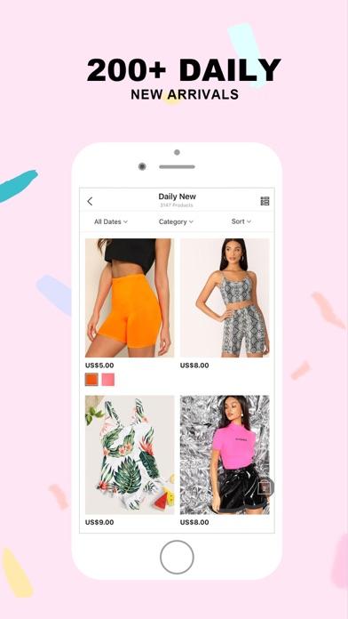 Screenshot for SHEIN-Fashion Shopping Online in Netherlands App Store