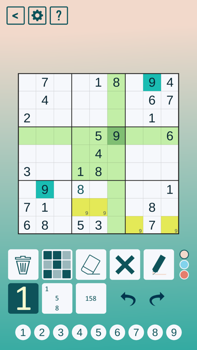 Classic Sudoku!のおすすめ画像2