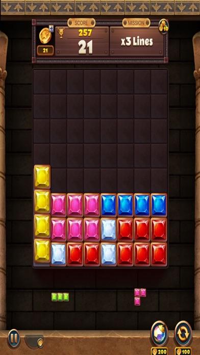 Jewel Brick Cube Drop