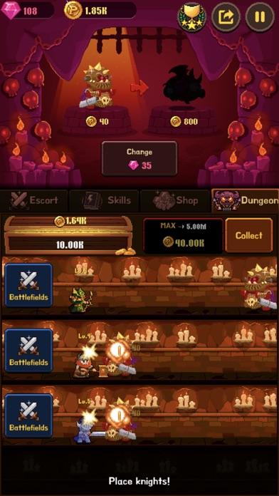 Coin Princess : Tap Retro RPG screenshot three