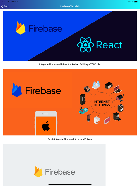 Learn Firebase [PRO] screenshot 11