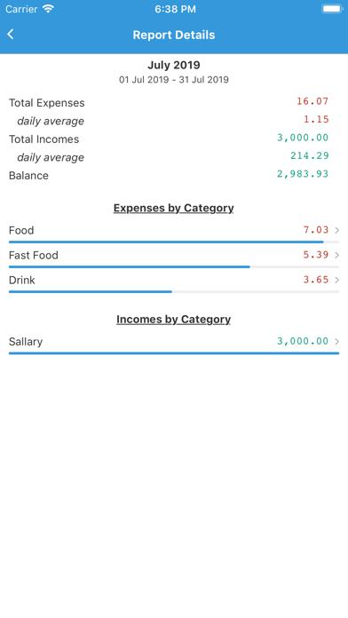 SepranPro: Expense Manager screenshot #1