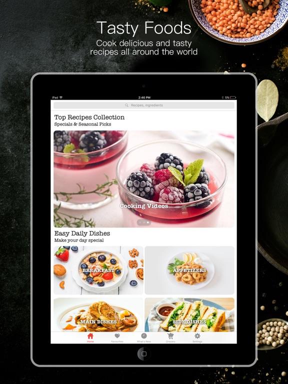 Vegetarian Recipe Book screenshot