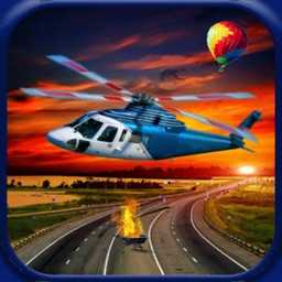 Real City Helicopter Flight Ad