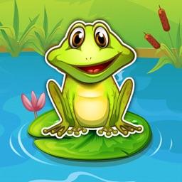 Jungle Frog Jumping